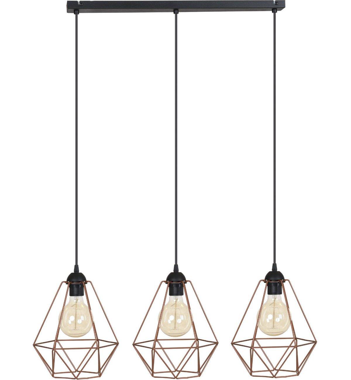lampy wiszące loft nowoczesne