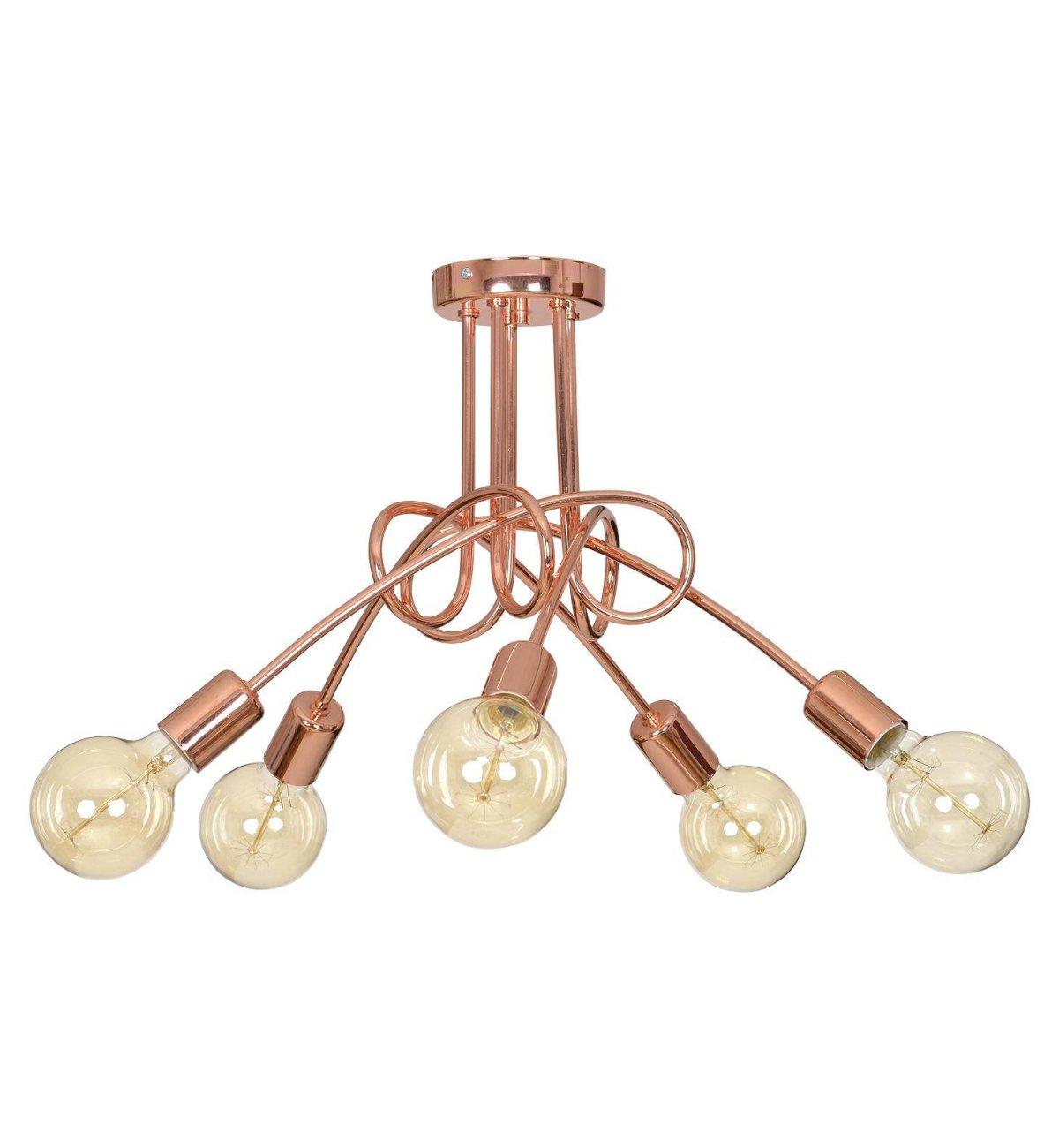 Oryginalna Lampa Loft Edison Miedziana Industrialna Sklep internetowy Light Home