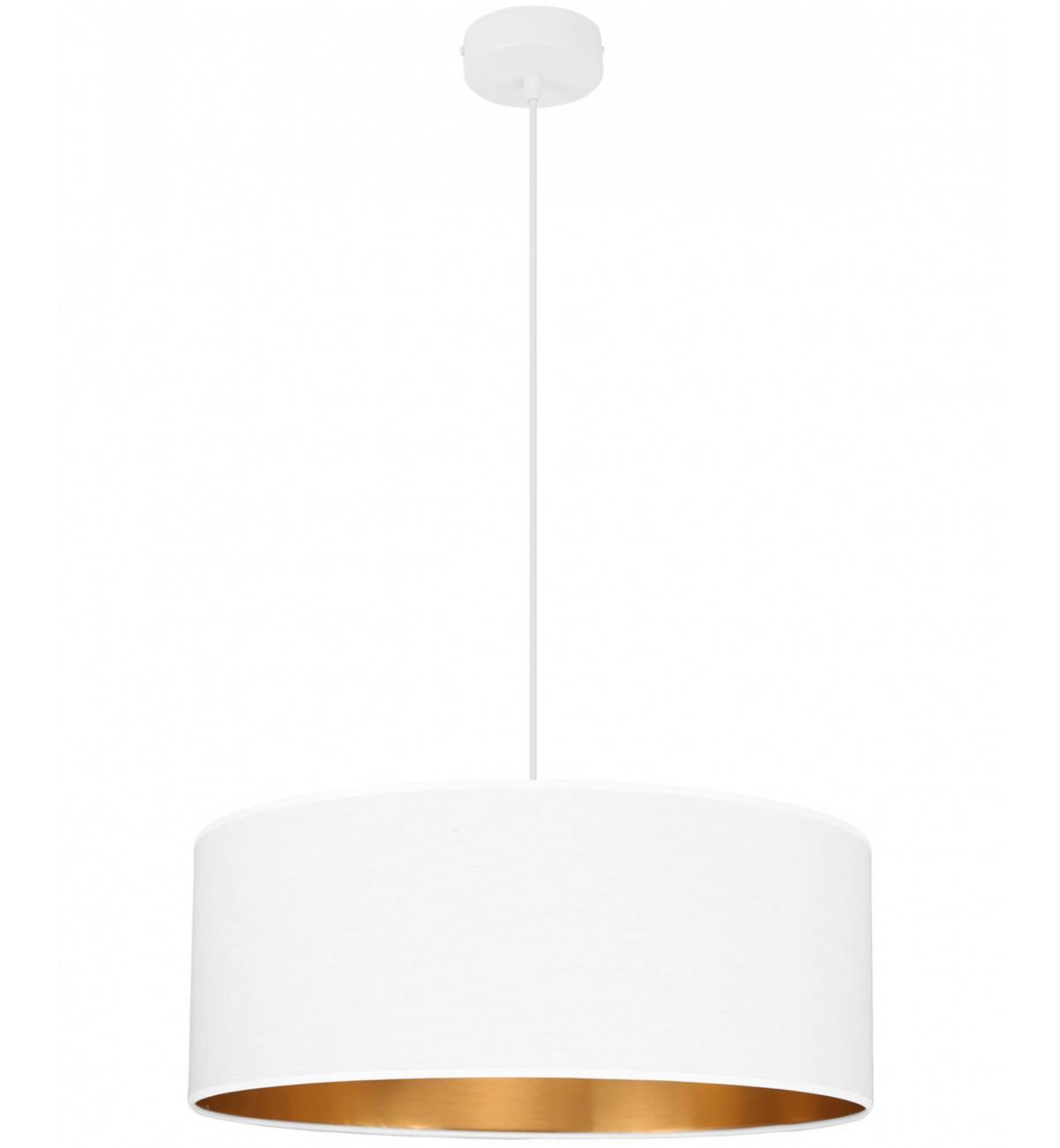 Nowoczesna Lampa Wisząca Złoty środek Abażur 50 Cm Sklep