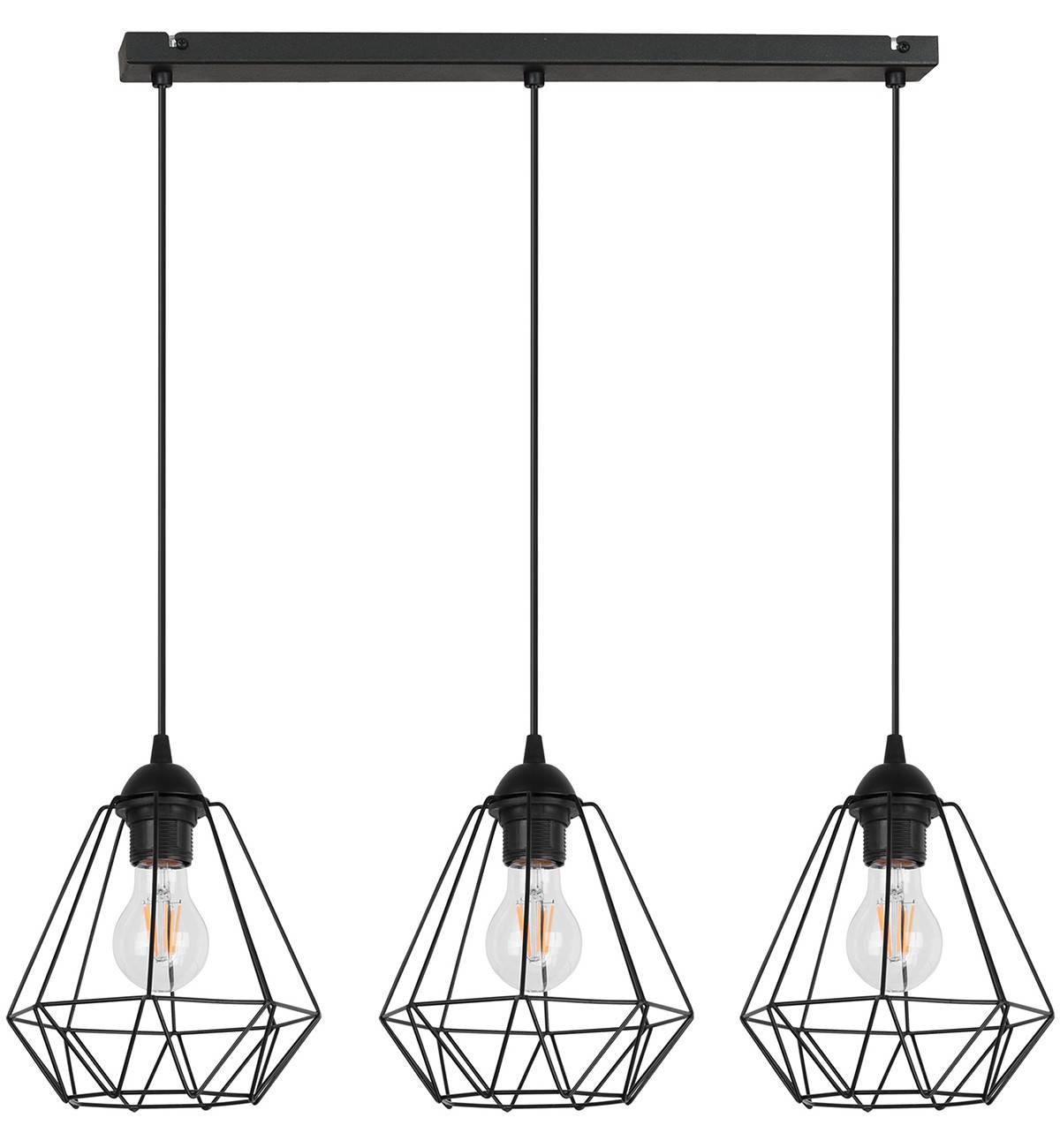 Lampa Wisząca Żyrandol Loft Metalowe Klosze Sklep internetowy Light Home