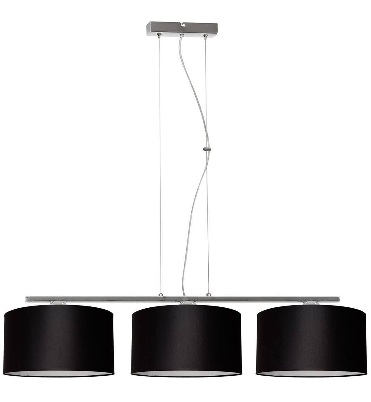 Lampa Wisząca Regulowana z Abażurami Chromowana Sklep
