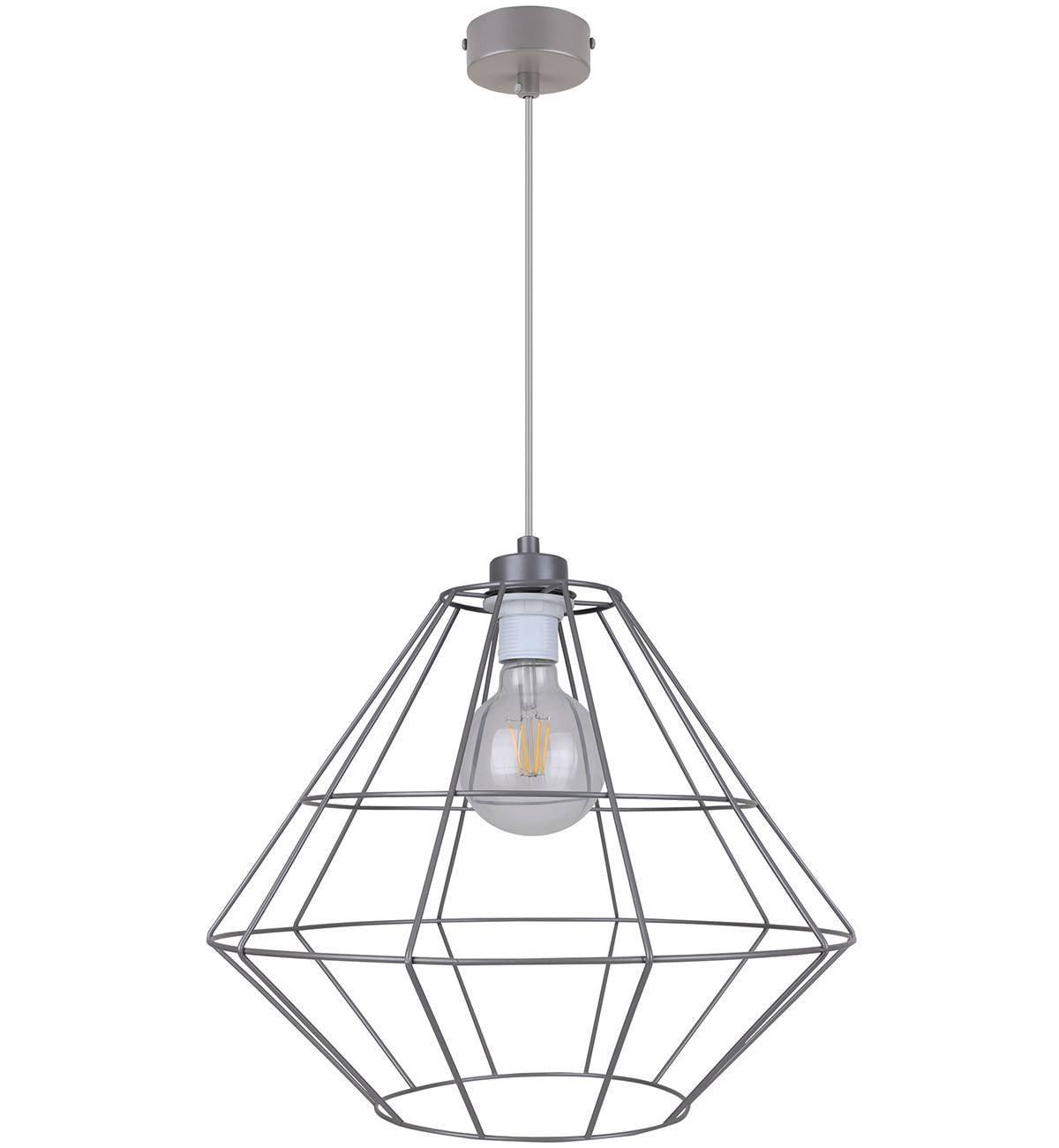 Lampa Wisząca Loft Metalowa Drut Nowoczesna Sklep