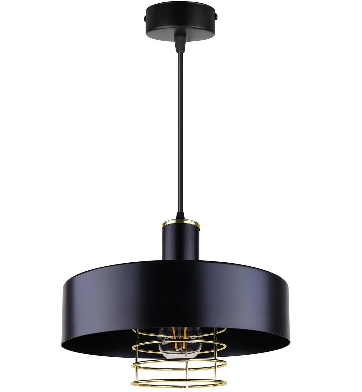 Lampa Wisząca Nowoczesna Loft Metalowa Złota Sklep internetowy Light Home