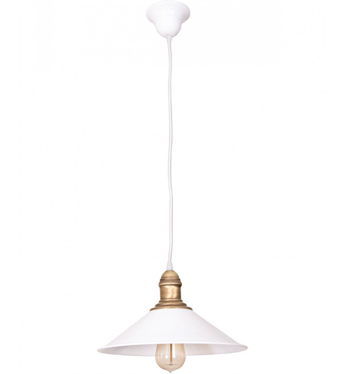 lampy kuchenne wiszące retro