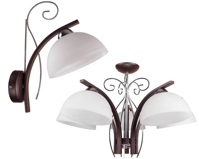 Lampy do salonu kinkiet lampa sufitowa