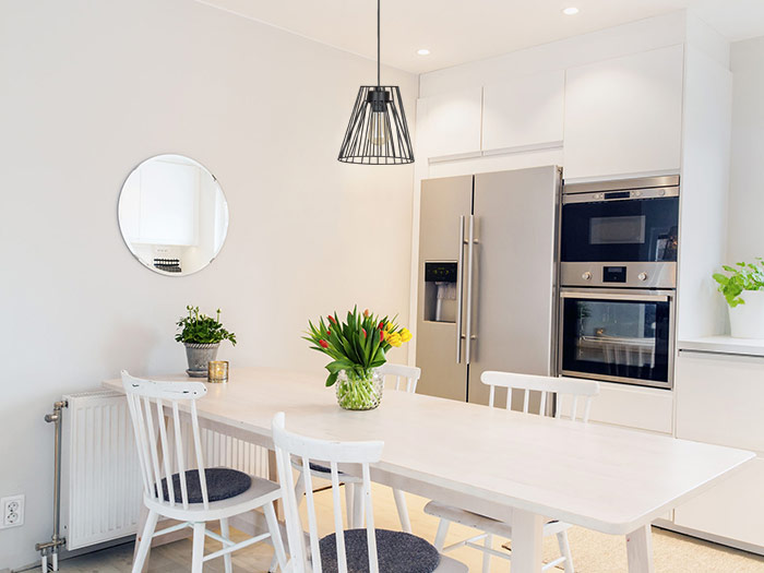 Jak Dobrać Lampę I Oświetlenie Nad Stół W Kuchni Dobieramy Nowoczesne Oświetlenie Do Kuchni Poradnik Light Home