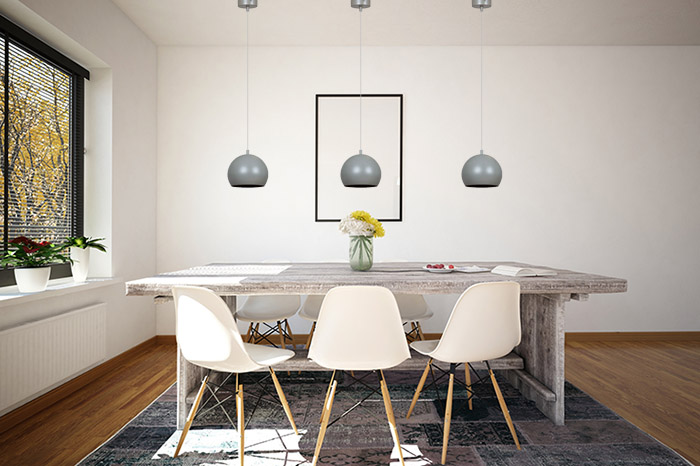nad stół lampy do salonu