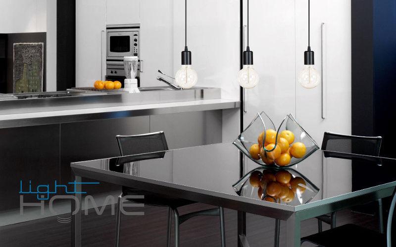 Kuchnia w stylu loft 3-płomienna lampa