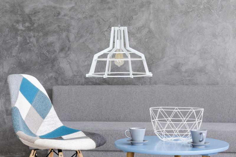 Lampa industrialna do salonu loft