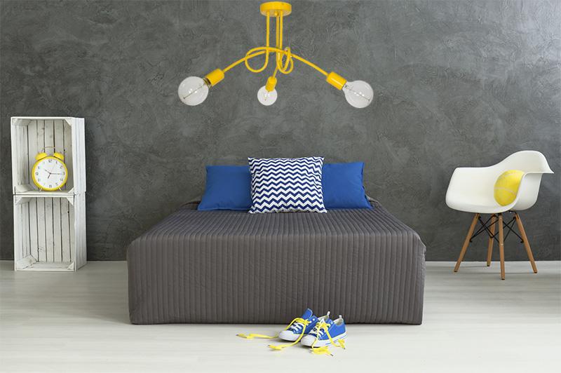 Wystrój pokoju dla dziecka loft