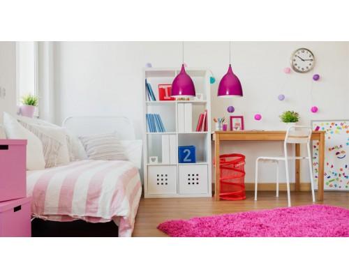 • Jak wybrać lampy do pokoju dziewczynki? Dobór oświetlenia dostosowany do potrzeb dziecka